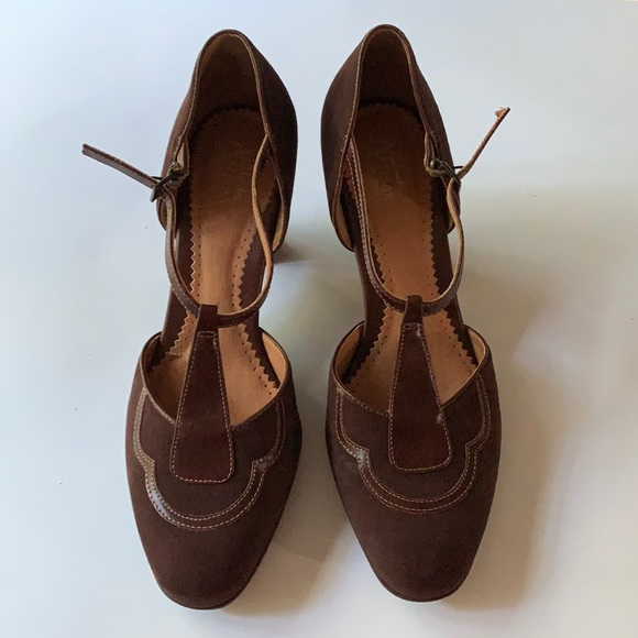 Leather Downton Abbey Style Clarks Artisan Leather